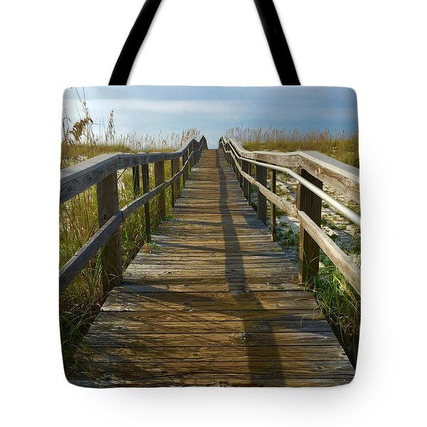 Tote Bag featuring the painting Pensacola Florida A52516 by Mas Art Studio