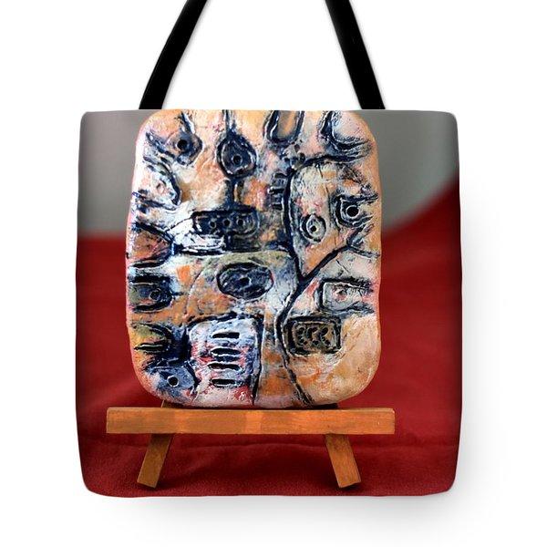 Pensamiento Abstracto Tote Bag by Edgar Torres