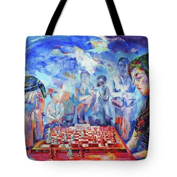 Pensamiento Flotante - Floating Mind Tote Bag by Koro Arandia