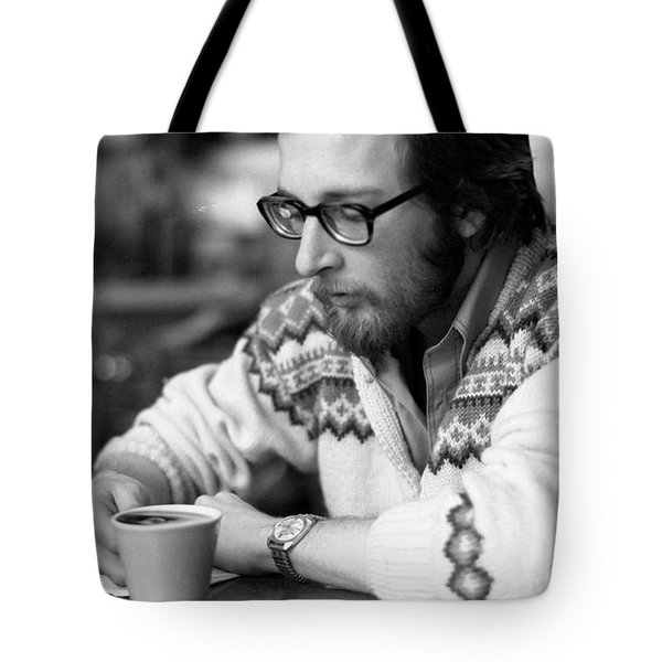 Pensive Brown Student, Louis Restaurant, 1976 Tote Bag