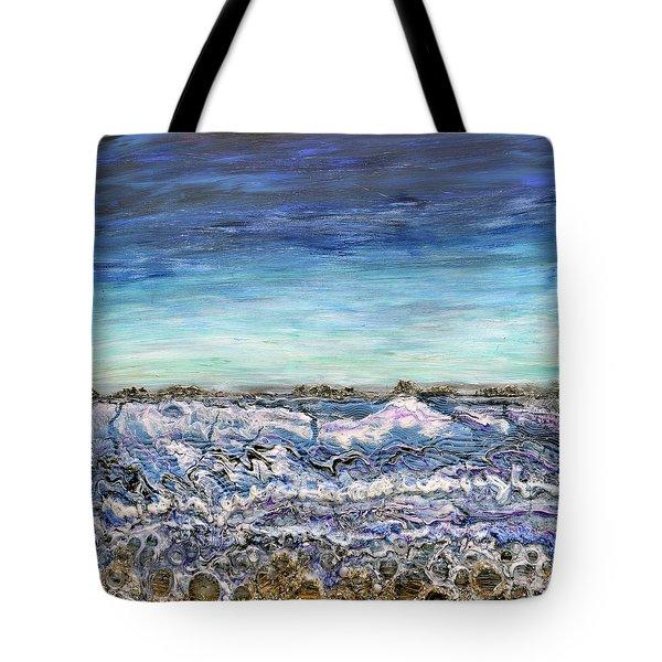Pensive Waters Tote Bag