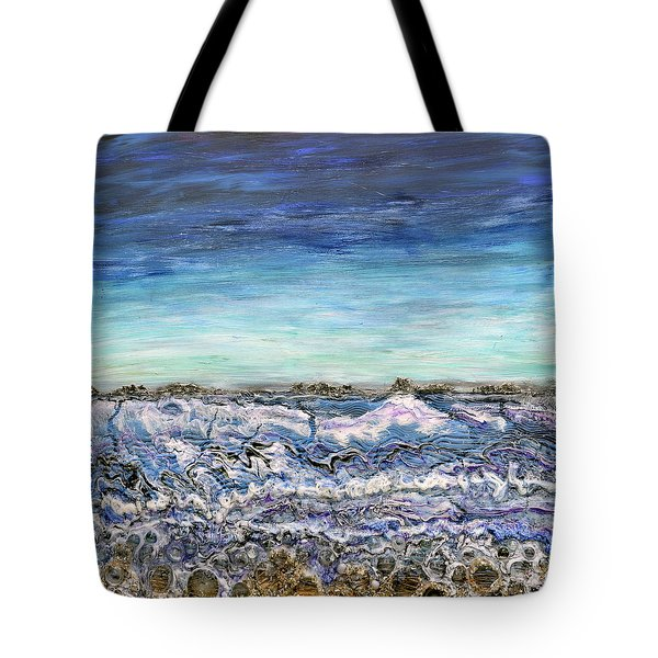 Pensive Waters Tote Bag
