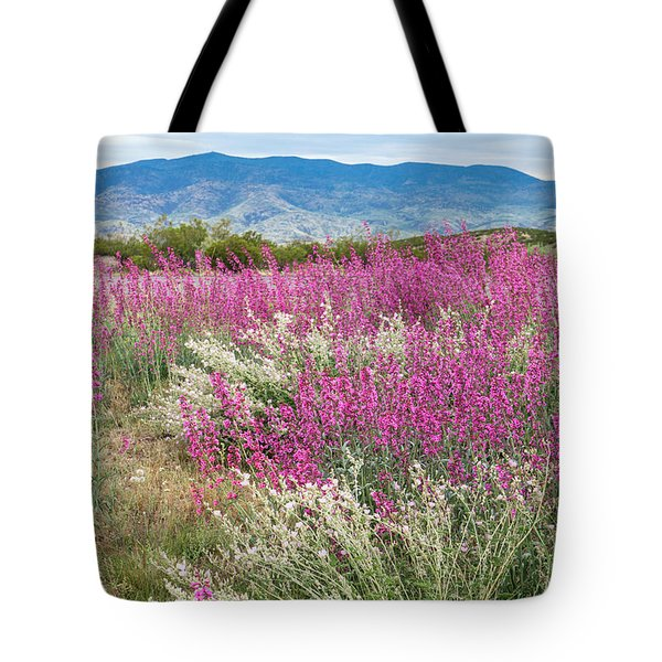 Penstemon At Black Hills Tote Bag