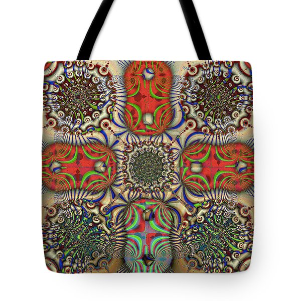 Pent-up-agram Tote Bag by Jim Pavelle