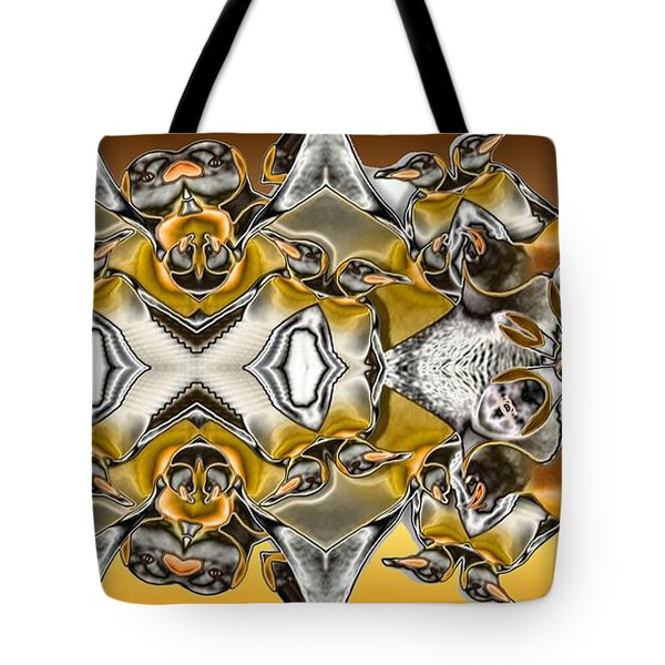 Pentwins Tote Bag by Ron Bissett