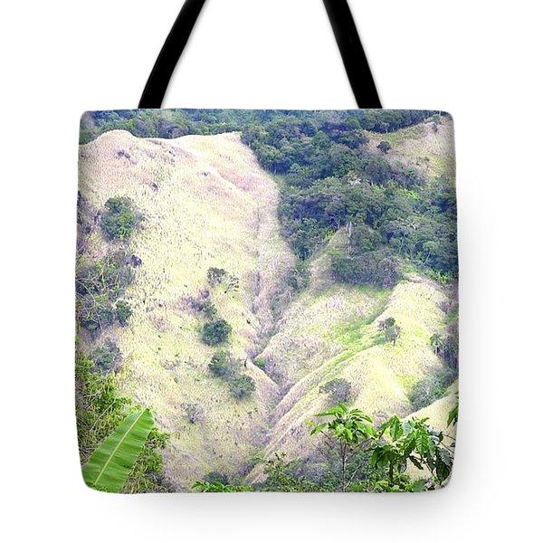 Penuelas, Puerto Rico Mountains Tote Bag
