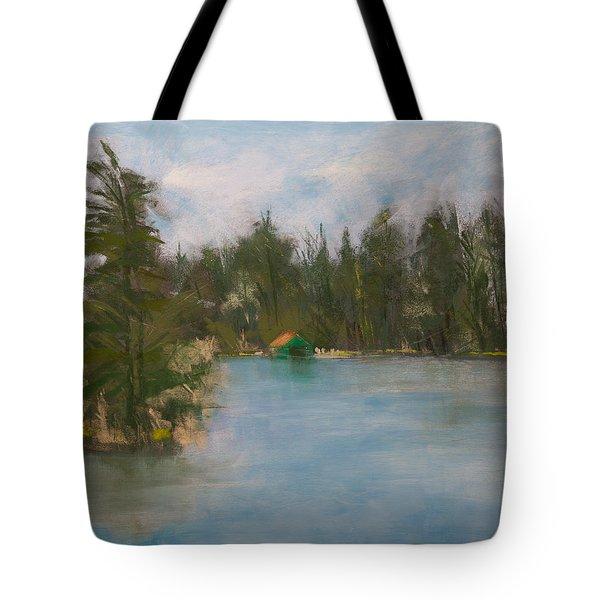 Penwood On Fourth Lake Tote Bag