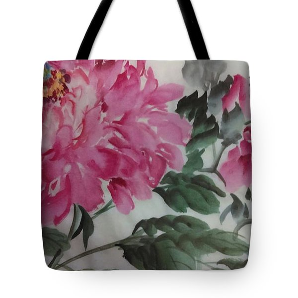 Peoney20161230_623 Tote Bag