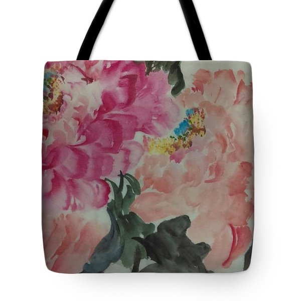 Peoney20161230_6246 Tote Bag