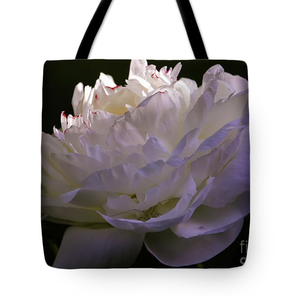 Peony At Eventide Tote Bag