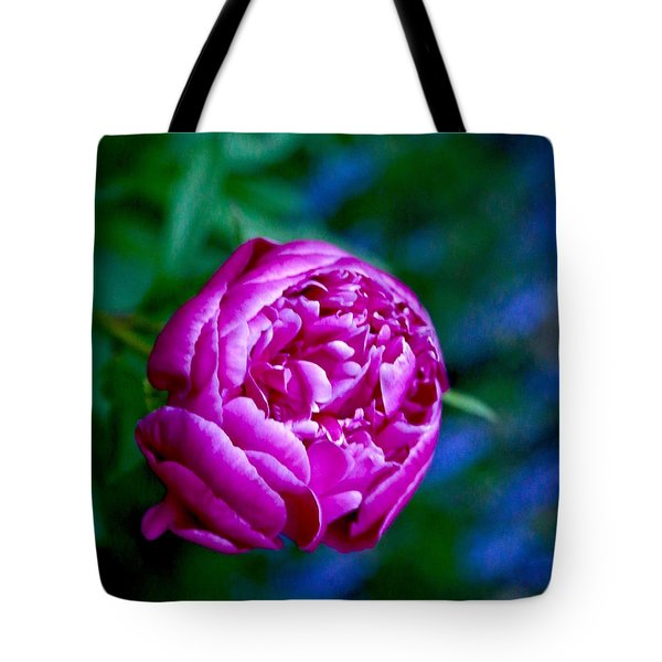 Peony Bloom Tote Bag by Gillis Cone