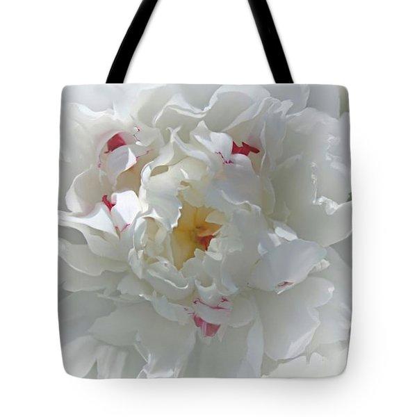 Peony Tote Bag by Bonnie Willis