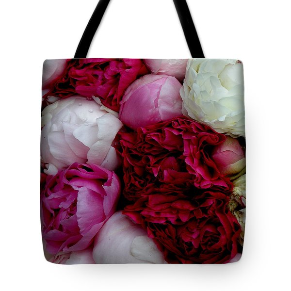 Peony Bouquet Tote Bag by Lainie Wrightson