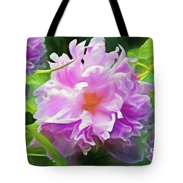 Peony Cluster 7 Tote Bag
