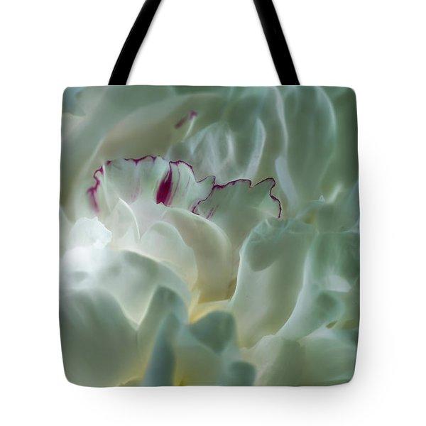 Peony Flower Energy Tote Bag