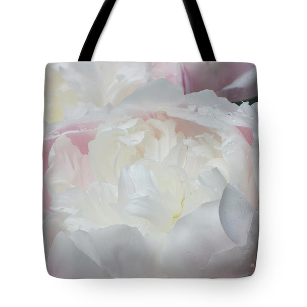 Peony Tote Bag by Karen Shackles