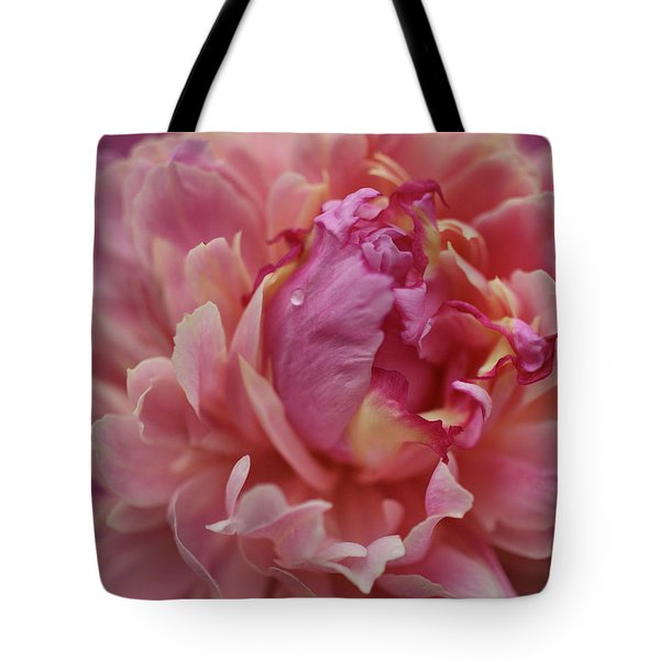 Peony Opening Tote Bag