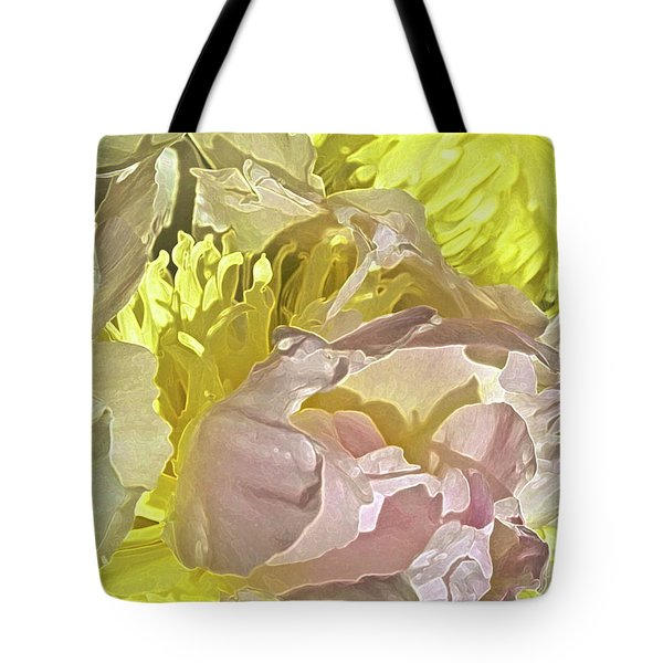 Peony Perfect Tote Bag by Gwyn Newcombe