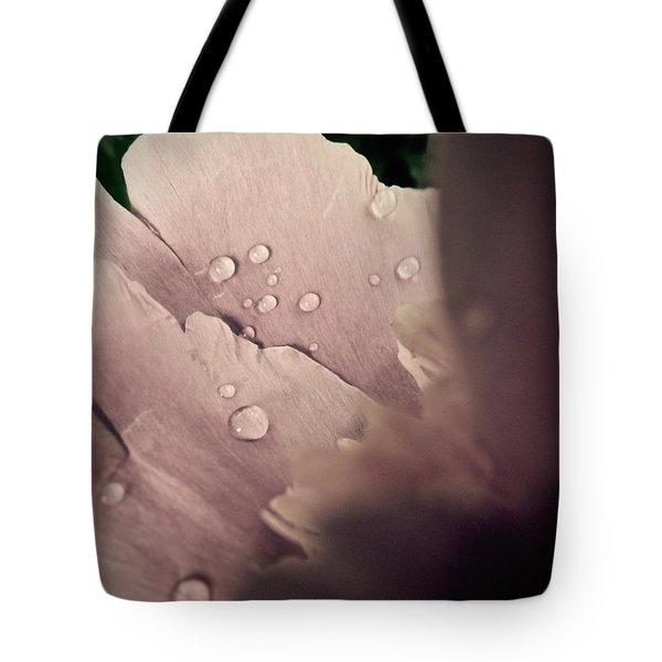 Peony Petals Tote Bag by Tim Good