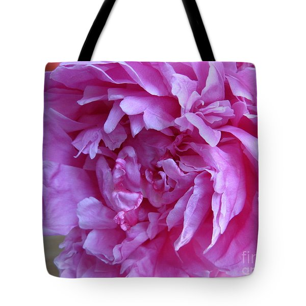 Peony Portland Tote Bag by Marlene Rose Besso