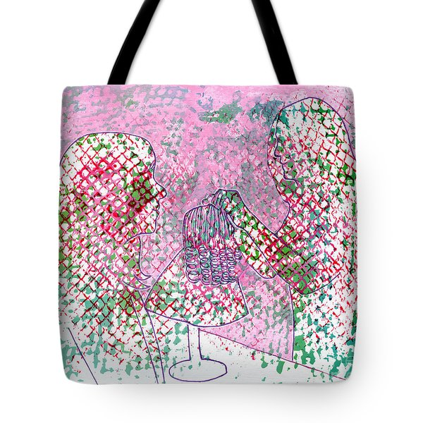 People At Work - The Doll Stylist Tote Bag