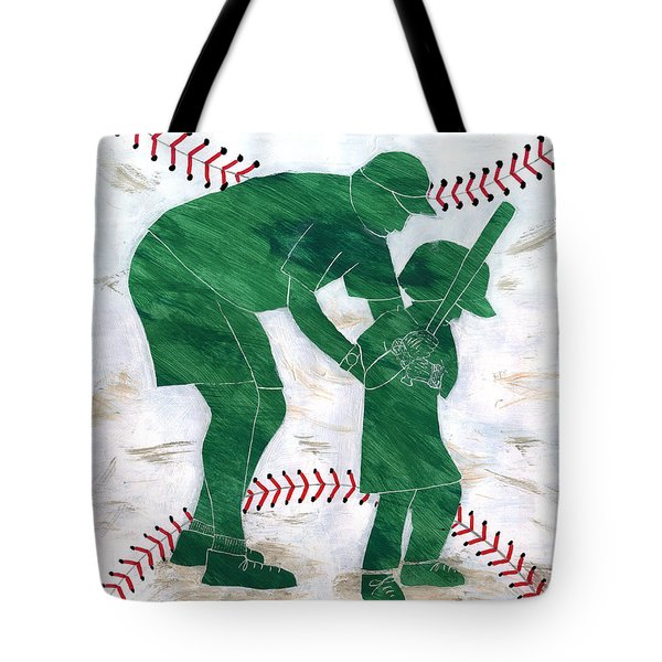 People At Work - The Little League Coach Tote Bag