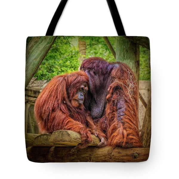 People Of The Forest Tote Bag