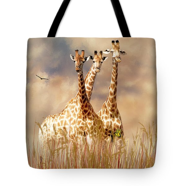 People Watchers Tote Bag