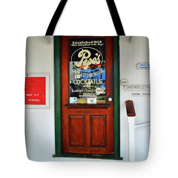 Tote Bag featuring the photograph Pepes by Jost Houk