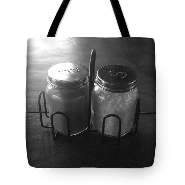 Pepper And Salt Tote Bag
