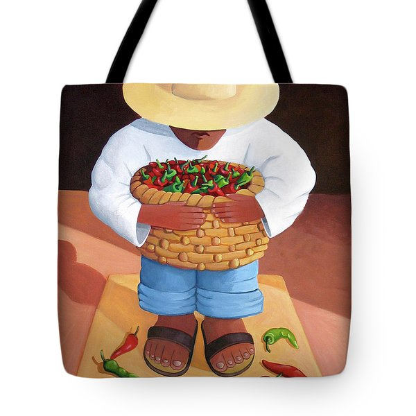 Pepper Boy Tote Bag