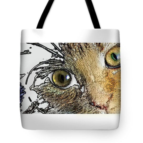 Pepper Eyes Tote Bag