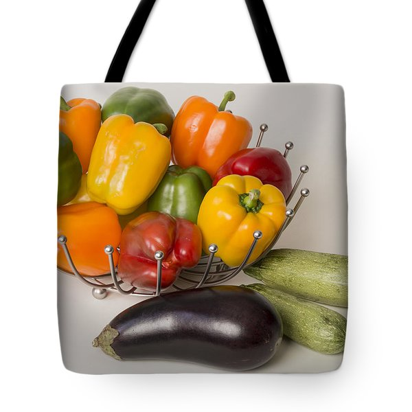 Pepper To Squash Tote Bag