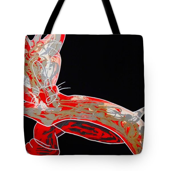 Peppermint Tote Bag