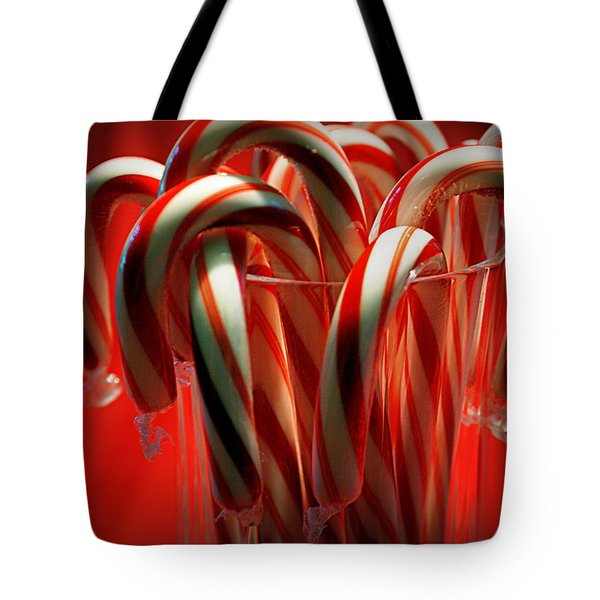 Peppermint Jumble Tote Bag