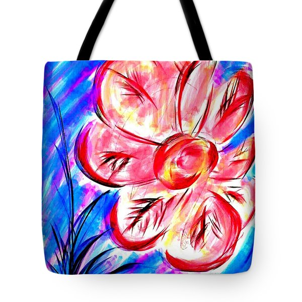 Peppermint Kiss Tote Bag