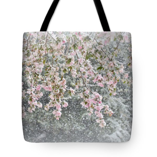 Peppermint Spring Tote Bag