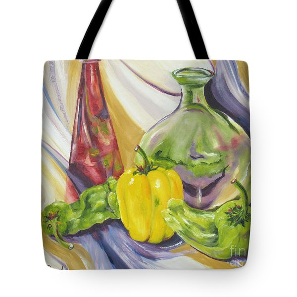 Peppers And Passion Tote Bag