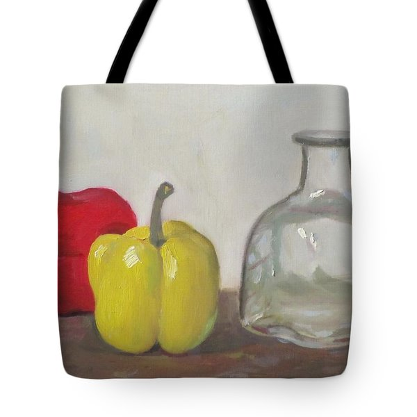 Peppers And Tequila Bottle Tote Bag