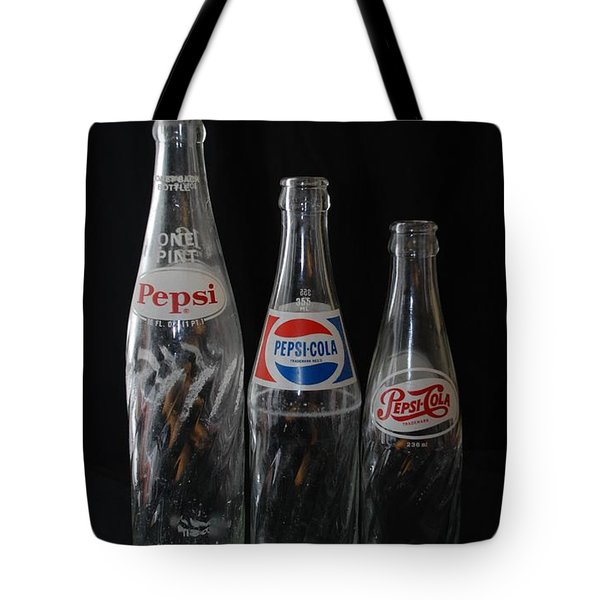 Pepsi Cola Bottles Tote Bag