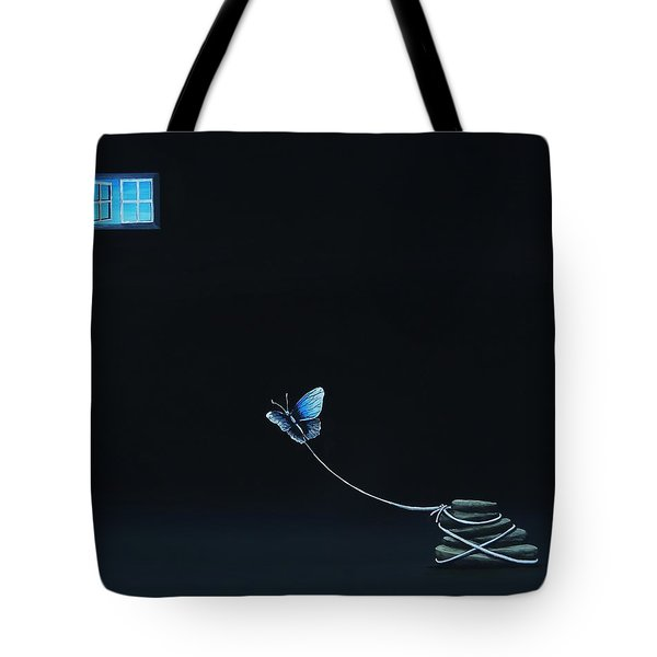 Tote Bag featuring the painting Per  Se  Ver  Ance by Edwin Alverio