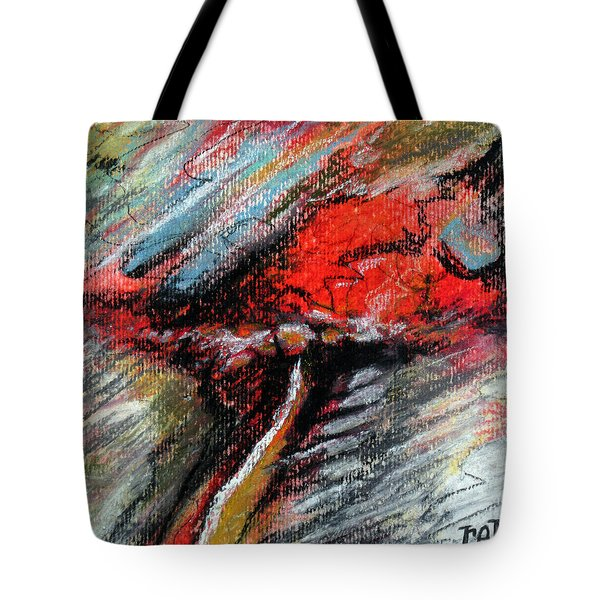 Tote Bag featuring the painting Perception by Rick Baldwin