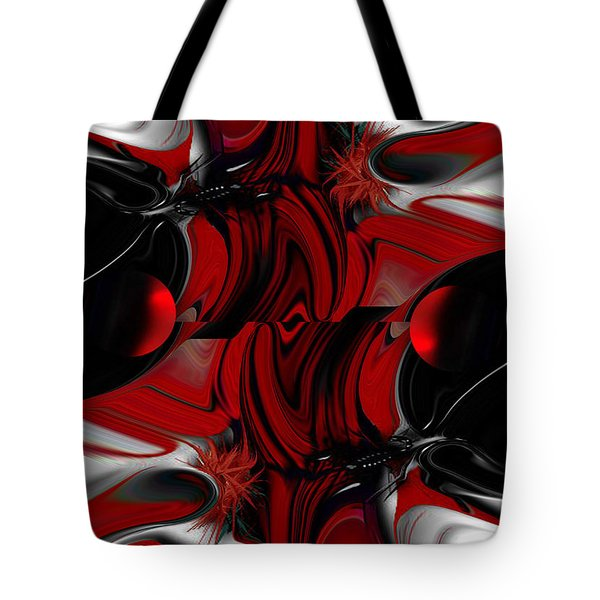 Perceptive Creation Tote Bag by Carmen Fine Art