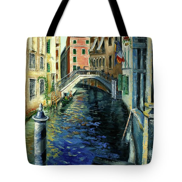 Perche Ero Li -because I Was There Tote Bag