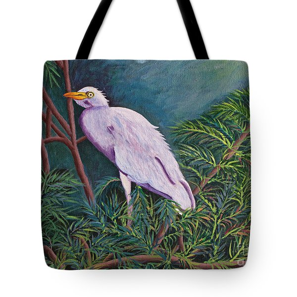 Perched On High Tote Bag