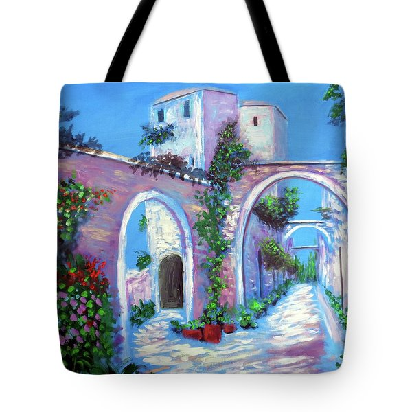 Percorso Paradiso Tote Bag