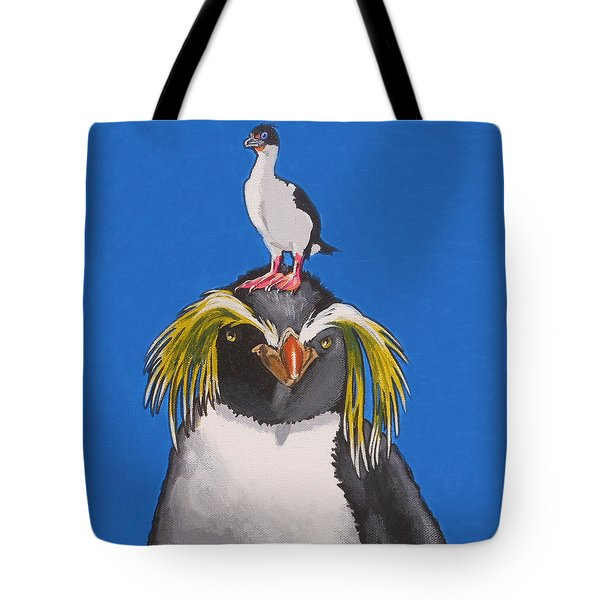 Percy The Penguin Tote Bag