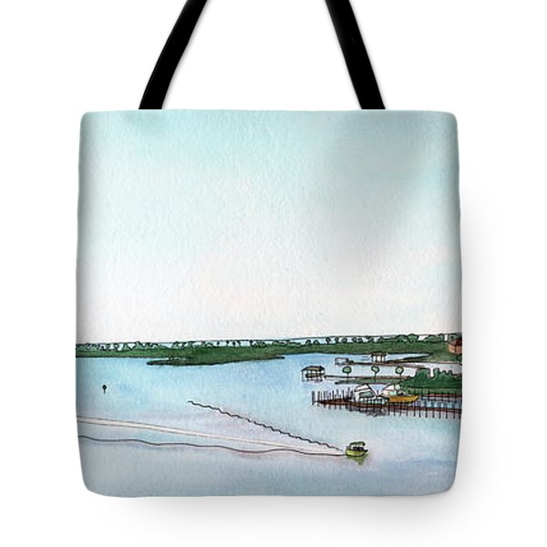 Perdido Key Bay Tote Bag