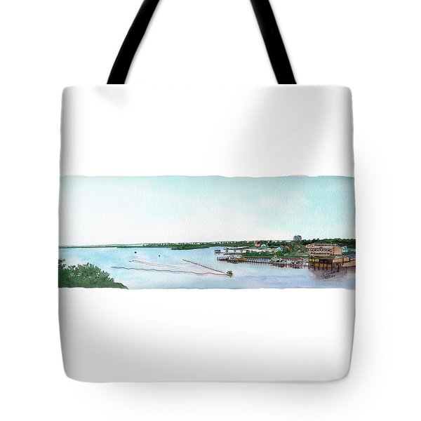 Perdido Key Bay Tote Bag