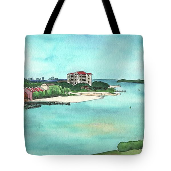 Perdido Key River Tote Bag